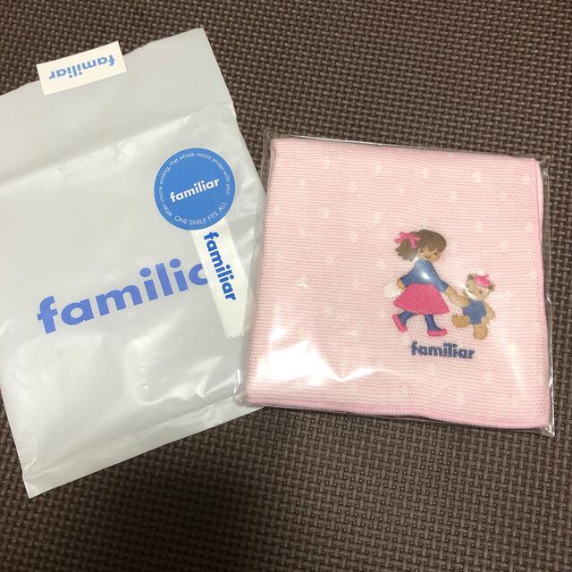 familiar(ファミリア)のファミリア タオルハンカチ レディースのファッション小物(ハンカチ)の商品写真