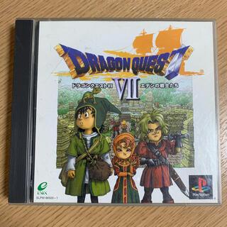 プレイステーション(PlayStation)のドラゴンクエストⅦ エデンの戦士たち(家庭用ゲームソフト)
