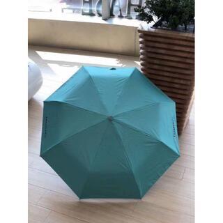 Tiffany & Co. - Tiffany & Co. 折りたたみ傘 自動折り畳み傘 晴雨兼用