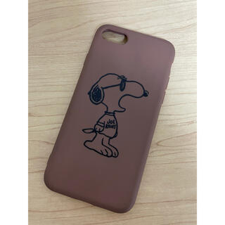 スヌーピー iPhoneケース iPhone7