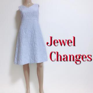 Jewel Changes - 素敵♪ジュエルチェンジズ レース刺繍ミディアムワンピース♡イエナ イネドノーブル