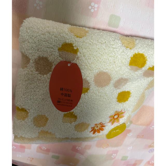 Sybilla(シビラ)の【新品・未使用】シビラ ハンカチタオル  綿100%   レディースのファッション小物(ハンカチ)の商品写真