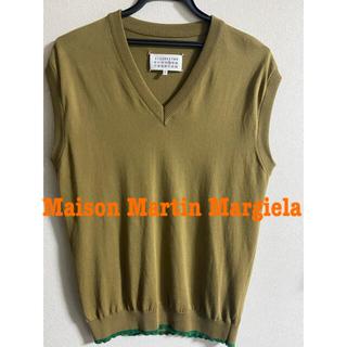 マルタンマルジェラ(Maison Martin Margiela)の【値下げ】マルジェラ 薄手コットンベスト(ベスト)