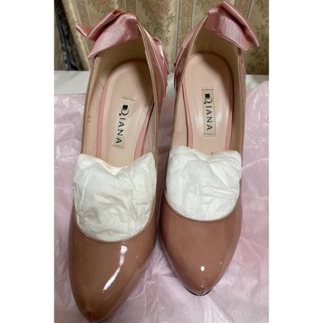 DIANA(ダイアナ)の〜シェリー様、木曜日まで〜DIANA   パンプス エナメル ピンク レディースの靴/シューズ(ハイヒール/パンプス)の商品写真
