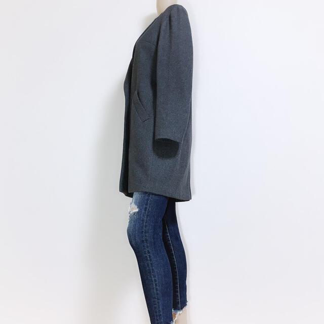 FRAY I.D(フレイアイディー)の必需品♪フレイアイディー 極暖ダブルチェスターコート♡トッカ ストラ ドゥロワー レディースのジャケット/アウター(チェスターコート)の商品写真