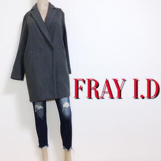 FRAY I.D - 必需品♪フレイアイディー 極暖ダブルチェスターコート♡トッカ ストラ ドゥロワー