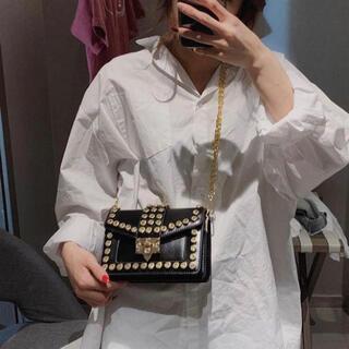 韓国系 チェーンショルダーバッグ