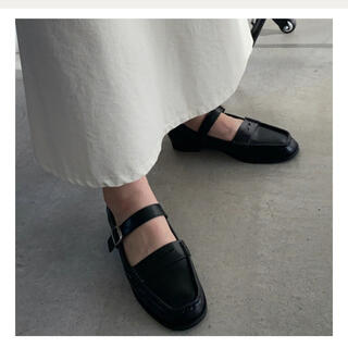 TODAYFUL - willfully instep buckle belt coin loafer