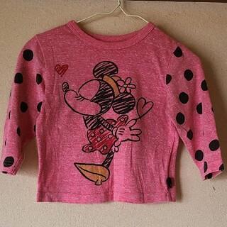 Disney - 薄手ロンT 女の子 ミニーマウス 90cm