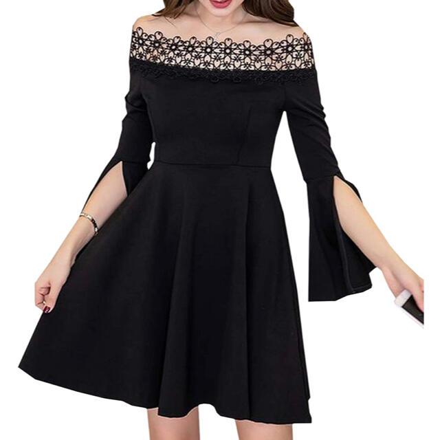【最終値下げセール】DURASジャンル韓国♡オフショルAライン キャバドレス レディースのフォーマル/ドレス(ナイトドレス)の商品写真