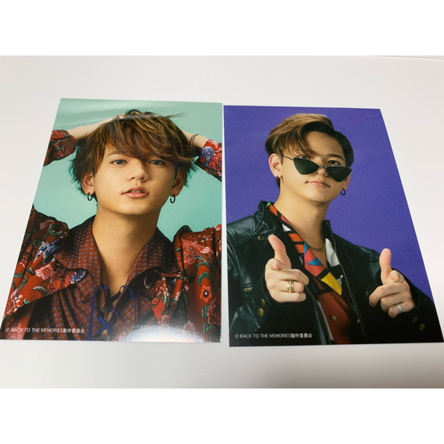 EXILE TRIBE(エグザイル トライブ)の中島颯太 ブロマイド エンタメ/ホビーのタレントグッズ(ミュージシャン)の商品写真