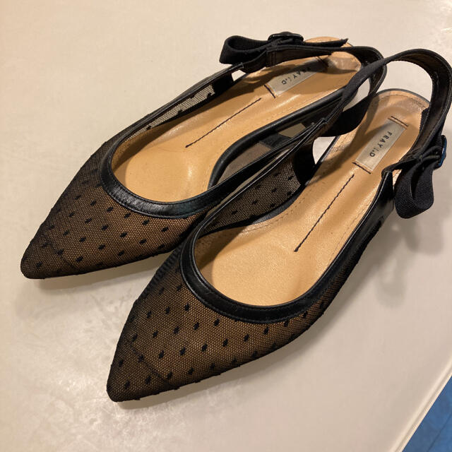 FRAY I.D(フレイアイディー)のフレイアイディー フラットシューズ 38 レディースの靴/シューズ(サンダル)の商品写真