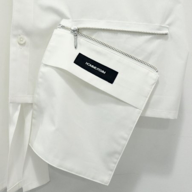 Vivienne Westwood(ヴィヴィアンウエストウッド)のCHANGE SHORT SLEEVE ASYMMETRY SHIRT メンズのトップス(シャツ)の商品写真