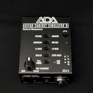 極美品 ADA キャビネットシミュレーター 上位機種 GCS-5(エフェクター)