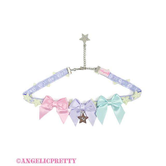 Angelic Pretty(アンジェリックプリティー)のAngelic Pretty☆カラフルStarチョーカー レディースのアクセサリー(ネックレス)の商品写真