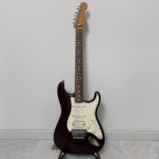 フェンダー(Fender)のFender Mexico フロイドローズ パープル SSH ストラト 2009(エレキギター)