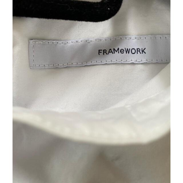 FRAMeWORK(フレームワーク)のフレームワーク スタンドカラー ブラウス レディースのトップス(シャツ/ブラウス(長袖/七分))の商品写真