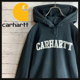 carhartt - 【人気デザイン】カーハート ビッグロゴプリント入りパーカー 定番