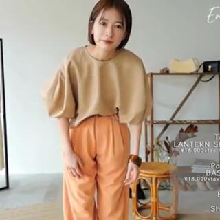 STUDIOUS - 新品タグ付き❤️松本恵奈着用 クラネ ベーシックタックパンツ
