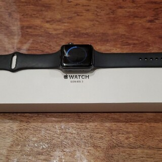Apple Watch シリーズ3 42mm スペースグレー