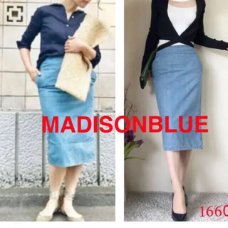 MADISONBLUE - マディソンブルー ソフィーデニムタイトロングスカート