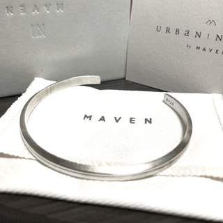 マベンウォッチズ silver バングル MAVEN マベン