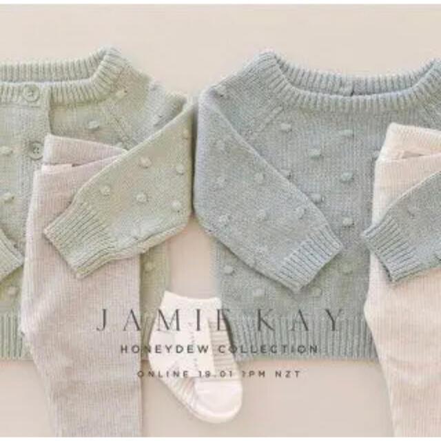 Caramel baby&child (キャラメルベビー&チャイルド)の新品未使用タグ付き♡Jamie kay Dotty knit ドッティーニット キッズ/ベビー/マタニティのキッズ服女の子用(90cm~)(ニット)の商品写真