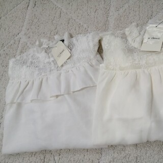 ダブルクローゼット(w closet)のダブルクローゼット セット(シャツ/ブラウス(半袖/袖なし))