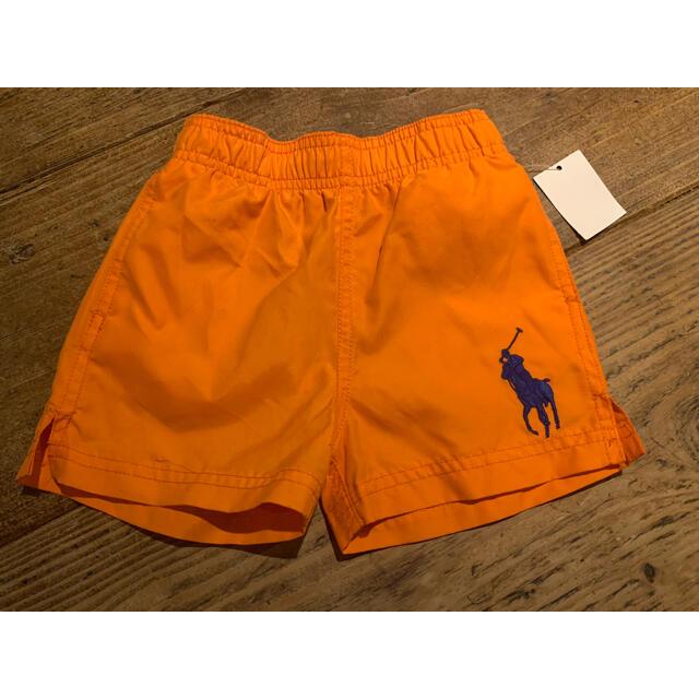 POLO RALPH LAUREN(ポロラルフローレン)のラルフローレン 12m(75〜80cm) 水着 オレンジ キッズ/ベビー/マタニティのベビー服(~85cm)(水着)の商品写真