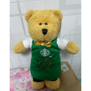 Starbucks Coffee - スターバックス 日本上陸25周年記念ベアリスタぬいぐるみ