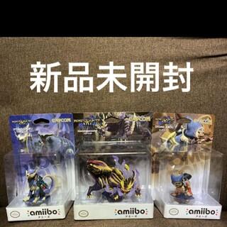 Nintendo Switch - モンスターハンター ライズ amiibo アミーボ 3体セット マガイマガド