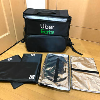 ●美品 ウーバーイーツ バッグ ウバック ダイエット サイクリング 置き配BOX