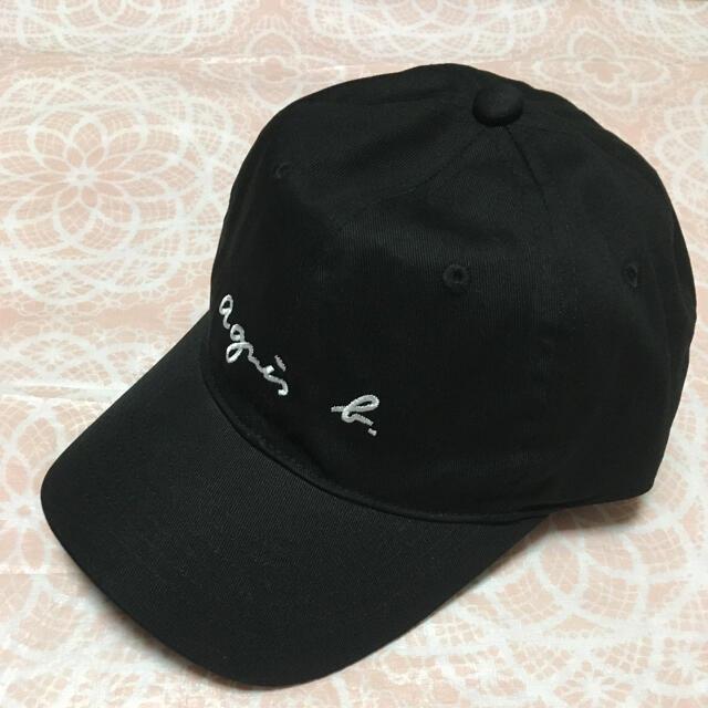 agnes b.(アニエスベー)のアニエスベーキャップ ブラック レディースの帽子(キャップ)の商品写真