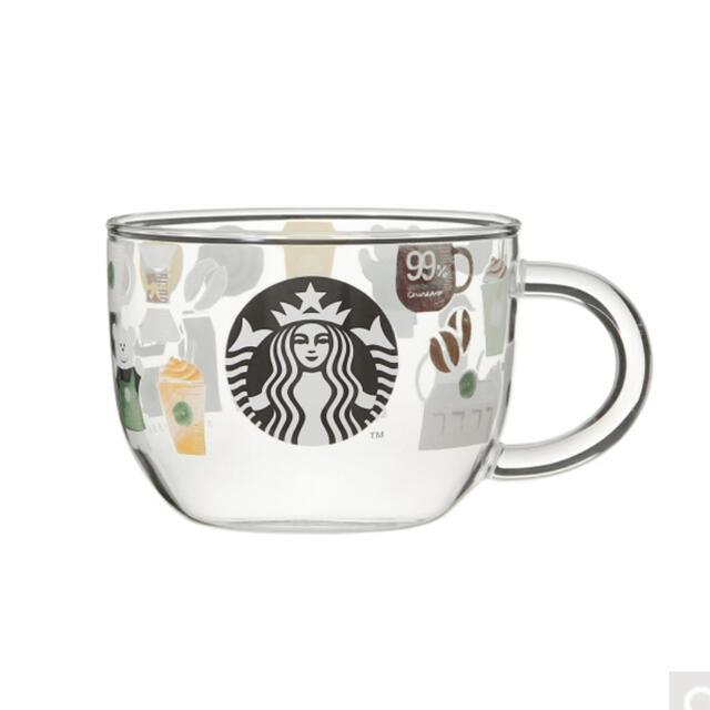 Starbucks Coffee(スターバックスコーヒー)のスタバ  耐熱グラスマグスターバックスルーツ355ml インテリア/住まい/日用品のキッチン/食器(グラス/カップ)の商品写真
