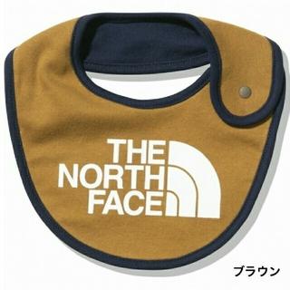 THE NORTH FACE - ノースフェイス ベビービブ スタイ よだれかけ ブラウン