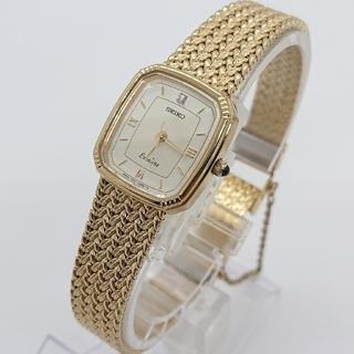 SEIKO - SEIKO セイコー レディース  腕時計 エクセリーヌ ゴールド ダイヤ