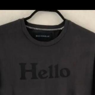 MADISONBLUE - マディソンブルー HELLO Tシャツ サイズ02グレー