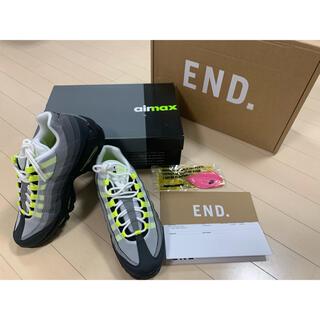 ナイキ(NIKE)の【新品】★激レア★AIR MAX 95 OG BLACK/NEONデッドストック(スニーカー)