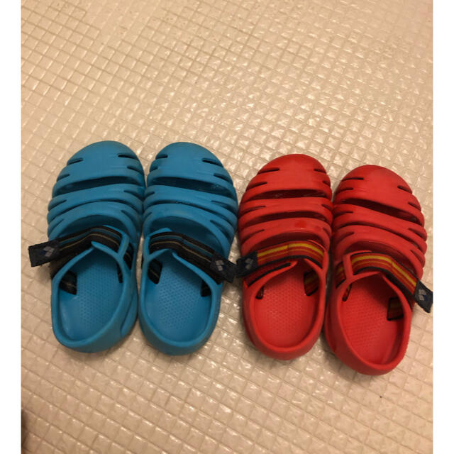 mont bell(モンベル)のモンベル キャニオンサンダル16㌢17㌢ キッズ/ベビー/マタニティのキッズ靴/シューズ(15cm~)(サンダル)の商品写真