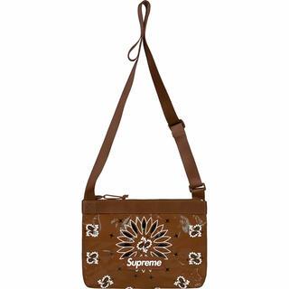 Supreme - Bandana Tarp Side Bag サイドバック ブラウン brown
