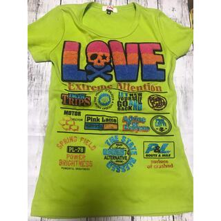 ピンクラテ(PINK-latte)のTシャツピンクラテワールドXS(Tシャツ(半袖/袖なし))