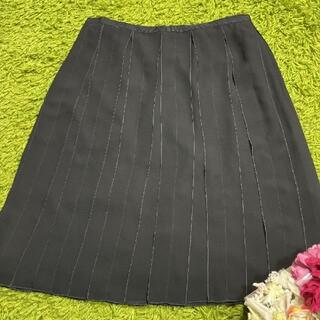 FOXEY - 美品フォクシー レディプリーツスカート黒 a1536
