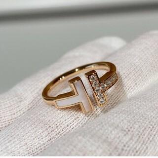 大人気 tリング 高品質 レディース 指輪 キラキラ czダイヤモンド