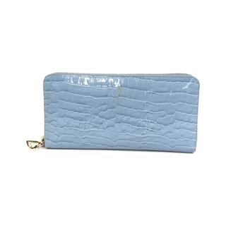 ランバンオンブルー(LANVIN en Bleu)のランバンオンブルー ラウンドファスナー長財布 レディース(財布)