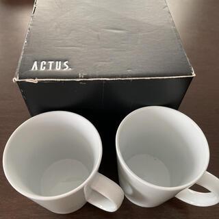 ACTUS - 新品 未使用 ACTUS マグカップセット