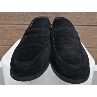 GU - GU ジーユー ローファー 短靴 黒 スエード