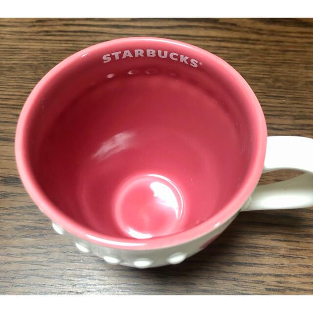 Starbucks Coffee(スターバックスコーヒー)のスターバックス ハートドットマグ ホワイト インテリア/住まい/日用品のキッチン/食器(グラス/カップ)の商品写真
