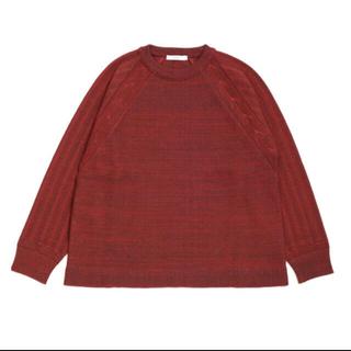 SUNSEA - YASHIKI Tasukigake knit 別注カラー 18AW ヤシキ