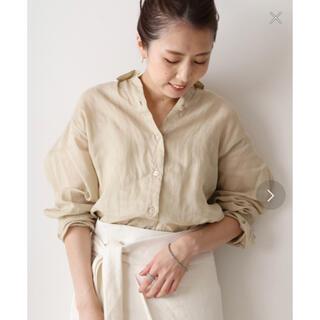 プラージュ(Plage)のRamie Regular シャツ◆ plage プラージュリネンシャツ(シャツ/ブラウス(長袖/七分))