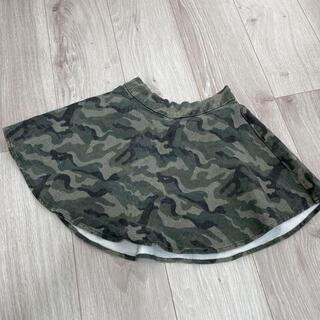 イングファースト(INGNI First)のイングファースト ミニタリー迷彩柄 スカート 120-130(スカート)